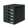 System box zatvorený čierno-čierny