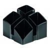 Štvordielny stojan Scala čierny