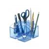 Štvordielny stojan Scala priehľadný modrý