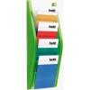 Prezentačný stojan 4xA5 zelený