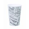 """""""Papierový pohár 0,3L ''Coffee to go'' s motí"""""""