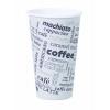 """""""Papierový pohár 0,4L ''Coffee to go'' s motí"""""""