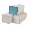 Uteráky papierové skladane ZZ, biele, 20x250, 1 vrstvové, 25