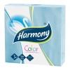 Papierové servítky Harmony modré