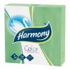 Papierové servítky Harmony zelené
