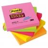 Samolepiaci bloček Post-it Super Sticky 76x76 neónové farby