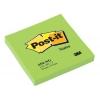 Samolepiaci bloček Post-it 76x76 neon zelený