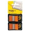 Záložky Post-it Index široké 25x43 oranžová
