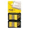 Záložky Post-it Index široké 25x43 žltá