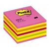 Samolepiaci bloček kocka Post-it 76x76 neónová ružová mix
