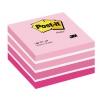 Samolepiaci bloček kocka Post-it 76x76 ružová
