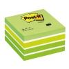 Samolepiaci bloček kocka Post-it 76x76 zelená