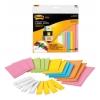 Etikety Post-it Super Sticky mix veľkostí a farieb 21ks