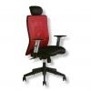 Kancelárska stolička CALYPSO XL červená