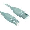 Kábel USB 1,8m A-B    prepoj.