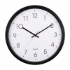 Nástenné hodiny Quartz PG-350 čierne