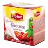 Čaj Lipton Temptation red 40 g pyramídy