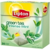 Čaj Lipton green intensive mint 32g