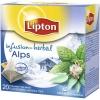 Čaj Lipton Alps mäta a eukalyptus