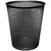 Drôtený odpadkový kôš 19 litrov čierny (DO315501)