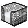 Drôtený stojan na blok kocka čierny 95x80x95mm (DO749501)