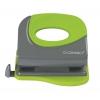 Dierovačka Q-Connect KF00995 čierna/zelená na 20 listov