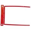 Archívny kovový klip potiahnutý červeným plastom (DO779804)