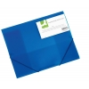 Obal na dokumenty s tromi chlopňami Q-Connect modrý