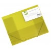 Obal na dokumenty s tromi chlopňami Q-Connect žltý