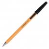 Jednorázové guličkové pero Q-CONNECT F čierne