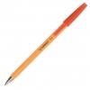 Jednorázové guličkové pero Q-CONNECT F červené