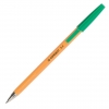 Jednorázové guličkové pero Q-CONNECT F zelené