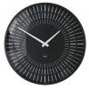 Nástenné hodiny artetempus Lox, čierne