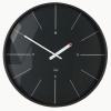 Nástenné hodiny artetempus Ondo, čierne