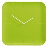 Nástenné hodiny artetempus Inu, limetková zelená