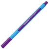 Guličkové pero Schneider Slider Edge XB fialové