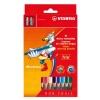 Farebné ceruzky Stabilo Trio 12 ks
