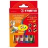 Farebné ceruzky STABILO woody 3 in 1 6 ks
