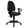 kancelárska stolička POINT 30 antacitová so vzorom