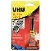Sekundové lepidlo UHU super glue gel 3g