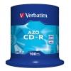 Verbatim CD-R 700 MB cake 100 ks