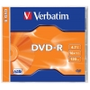 Verbatim DVD-R 16x klas.obal