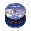 Verbatim DVD+R 16x 4,7GB cake 50 ks